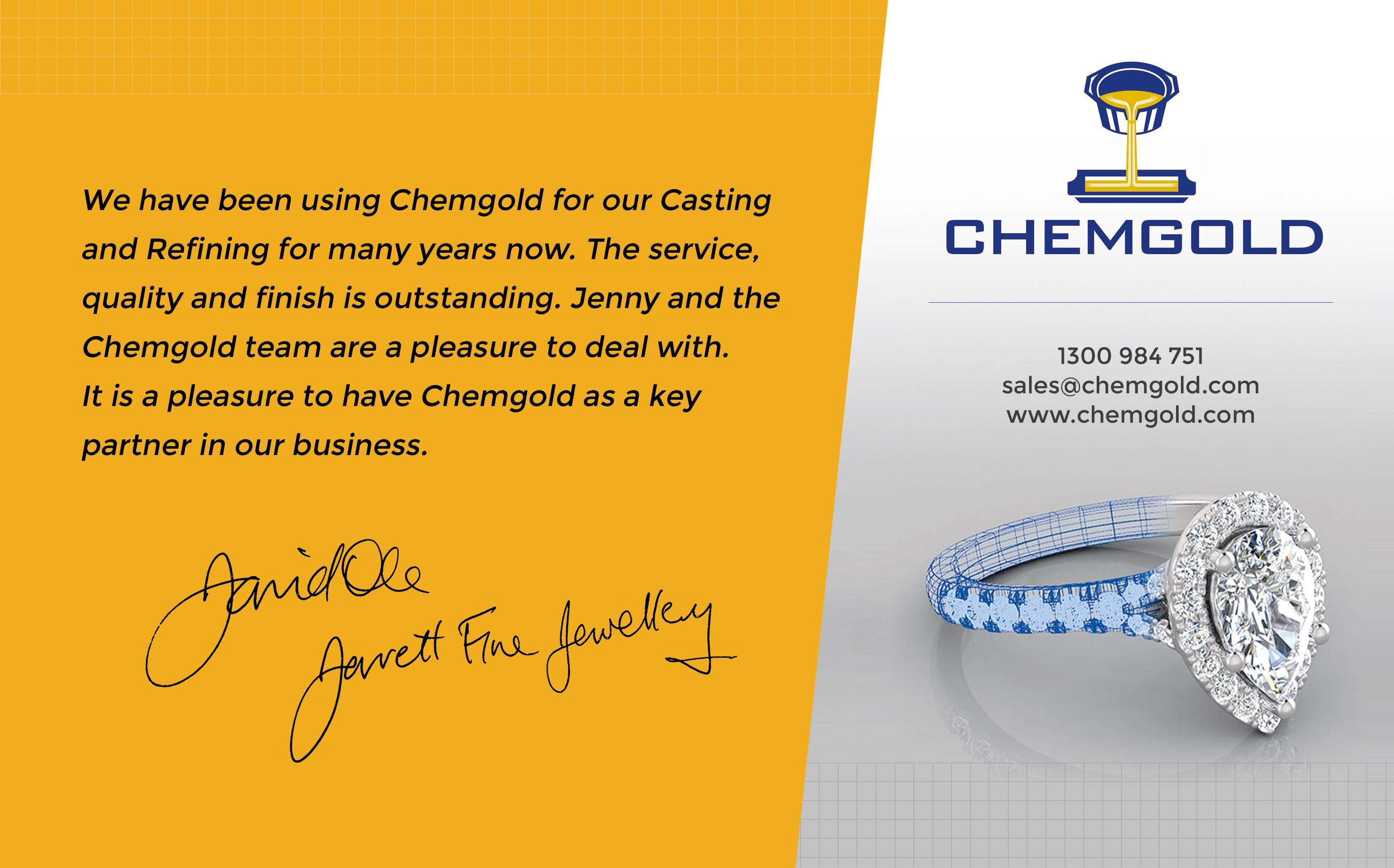 Chemgold Your Partner in Business