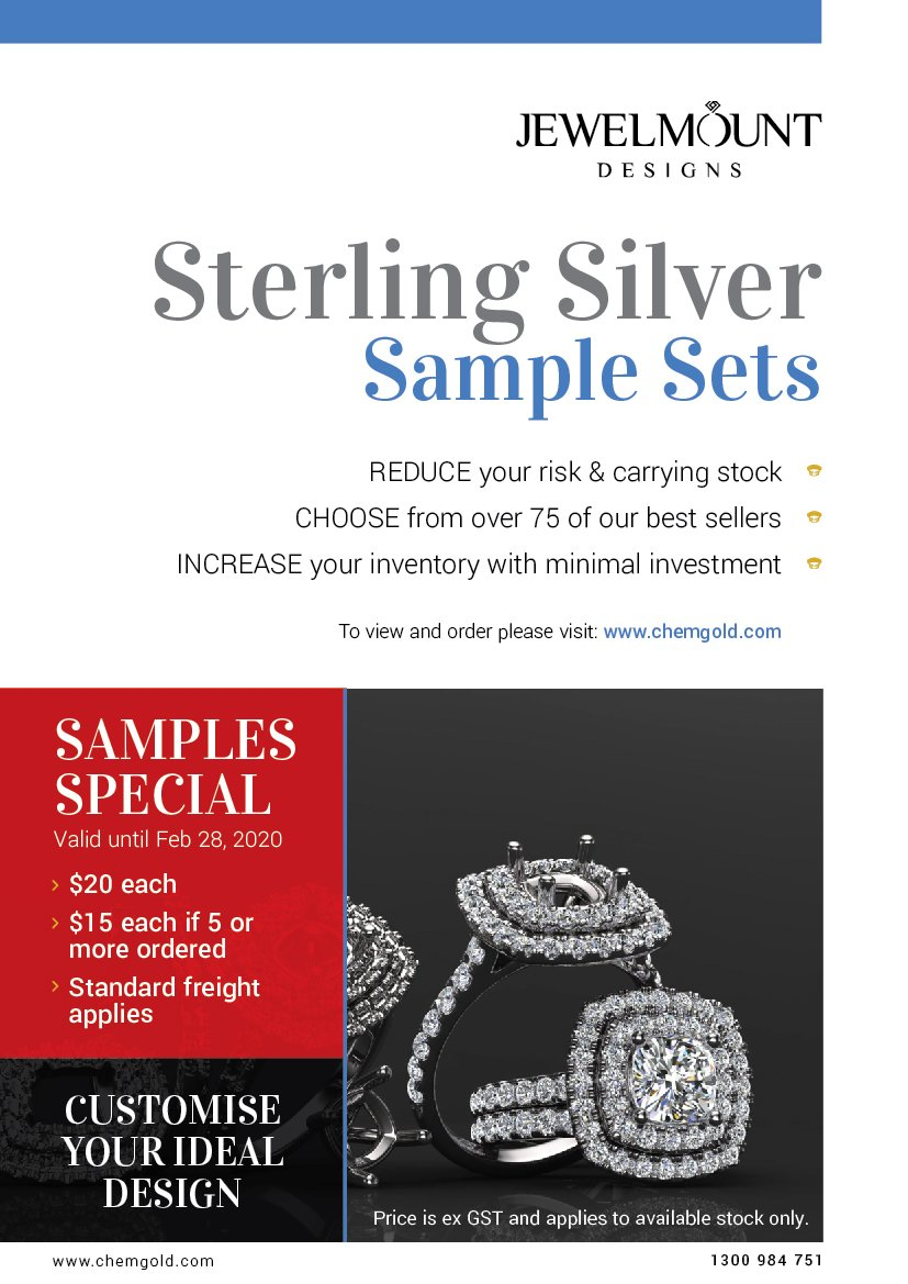 JewelMount Sample Specials