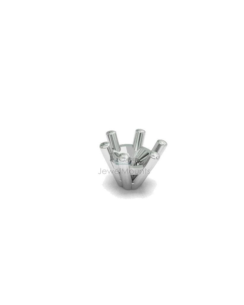 Six Claw Wire Setting - Settings, Round - Product Detail - Chemgold