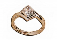 Ladies Ring - 1 x (4.5mm) Princess - Click for more info