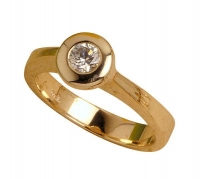 Ladies Ring - 1 x (4.25mm) Round - Click for more info