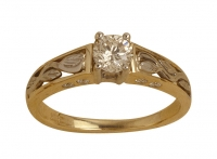 Ladies Ring - (1 x 0.45ct) (8 x 0.16ct) - Click for more info