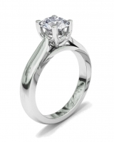 Half Round Shank | Fancy Four Claw Setting - Click for more info