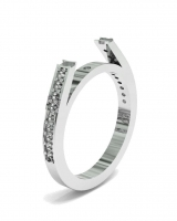 Pave Set Dress Ring - Click for more info
