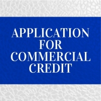 Application for Commercial Credit - Click for more info