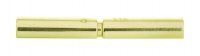 18YG Bayonet Clasp 4.5mm - Click for more info