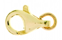 18YG Lobster Clasp 16mm - Click for more info