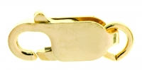 18YG Parrot Clasp 17mm - Click for more info