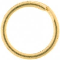 9YG Split Ring 6mm - Click for more info