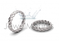 Twist Wedding Band - Click for more info