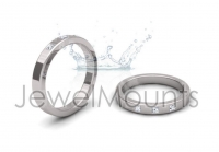 Princess Trilogy Wedding Band - Click for more info