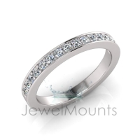 Pave Set Wedding Ring Matching Wedding Ring For J0171 - Click for more info