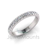 Scallop Set Wedding Ring Matching Wedding Ring For J0177 - Click for more info
