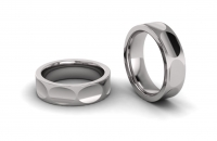 Eight Section Shaped Mens Ring - Click for more info
