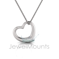 Fluid Heart Pendant - Click for more info
