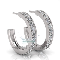 Pave Set Earring - Click for more info